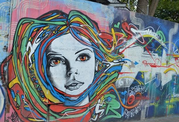 ART URBAIN Fresque I