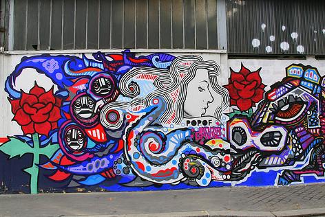 ART URBAIN Fresque III