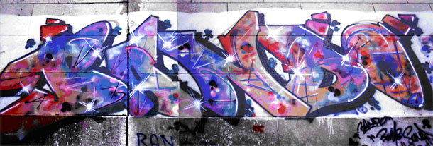 Art Urbain : l'art des métros New-Yorkais, Nasty