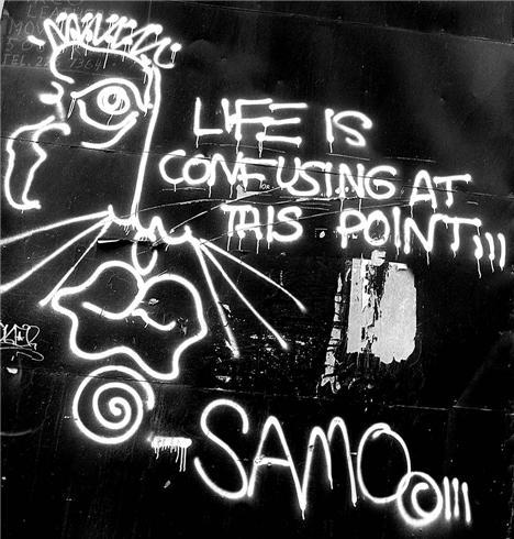 Samo aka Jean-Michel Basquiat - sur STRIP ART le Blog