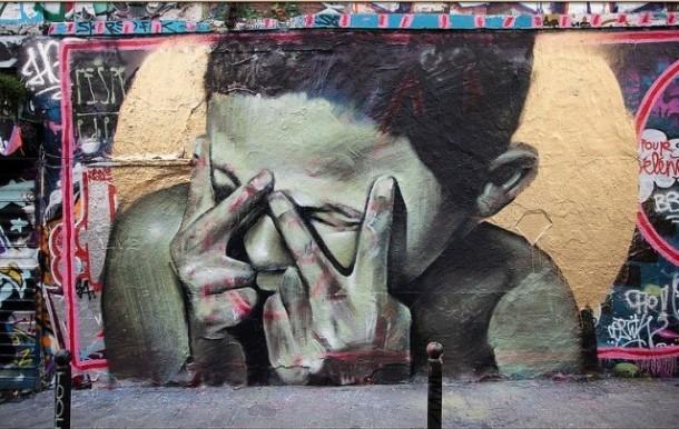 Street Art de MESA Belleville