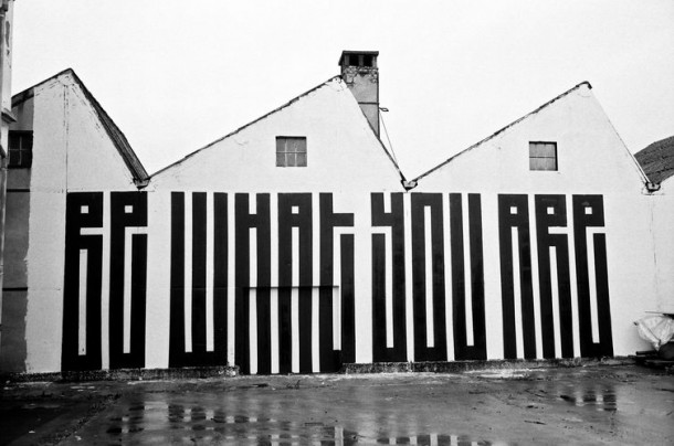 Art Urbain : L'Atlas Be what you are