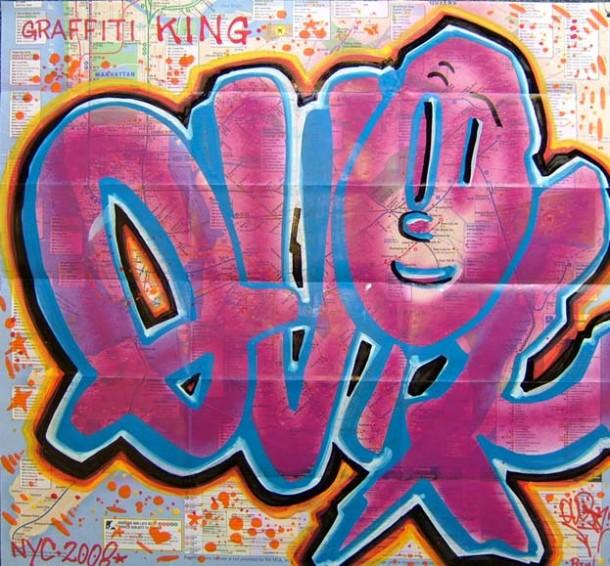 street art QUIK Lin Felton