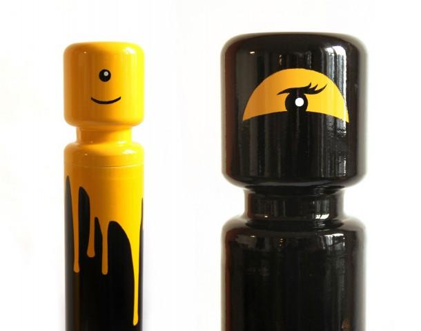 street art Le CyKlop 04 LEGO Collection 2011