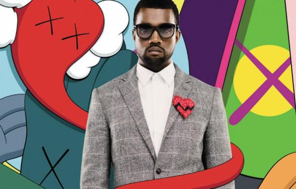 KAWS couverture de l'album de Kanye West : 808s & Heartbreak