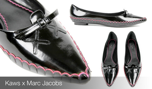 Souliers Kaws x Marc Jacobs