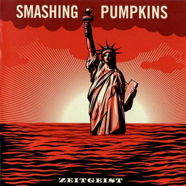 Street Art Shepard Faired x pochette disque Smashing Pumpkins