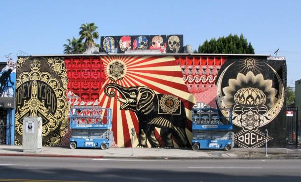 Street art : Shepard Fairey / OBEY Giant - sur Strip Art ...