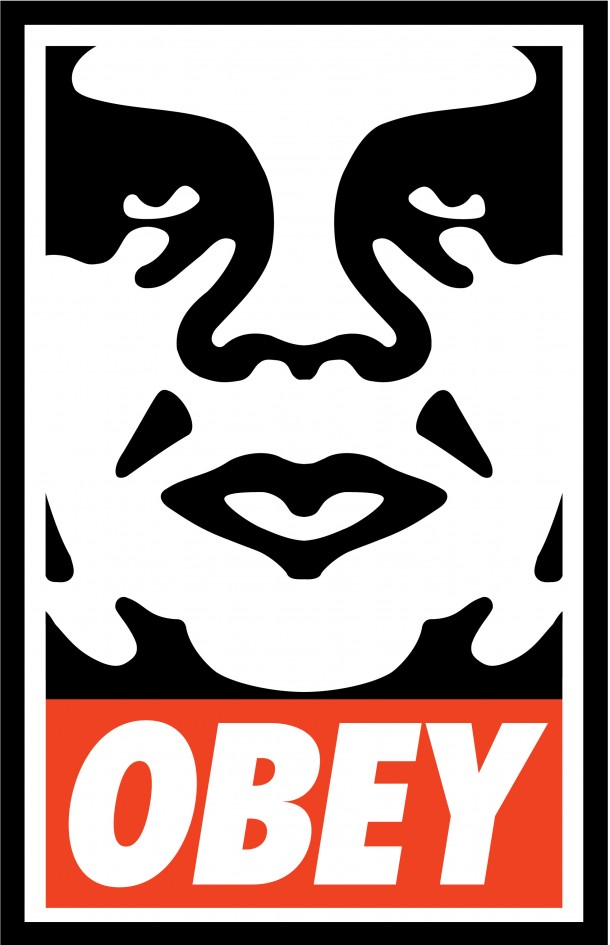Street Art Shepard Fairey Obey Giant Sur Strip Art