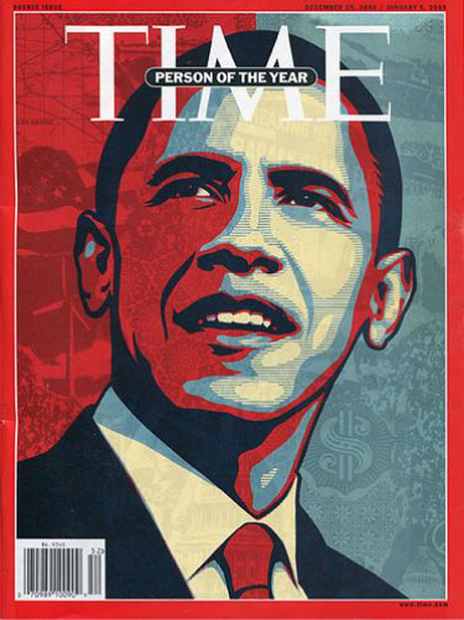 Shepard Fairey TIME Person of the Year Barack Obama