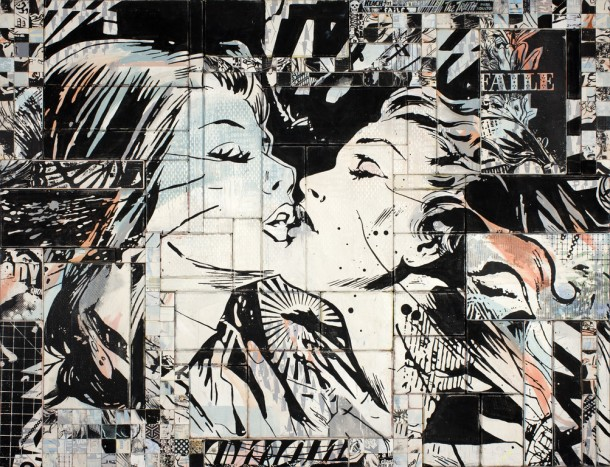 Street art FAILE Collectif d'artiste 11