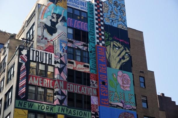 Street art FAILE Collectif d'artiste 03 Fresque