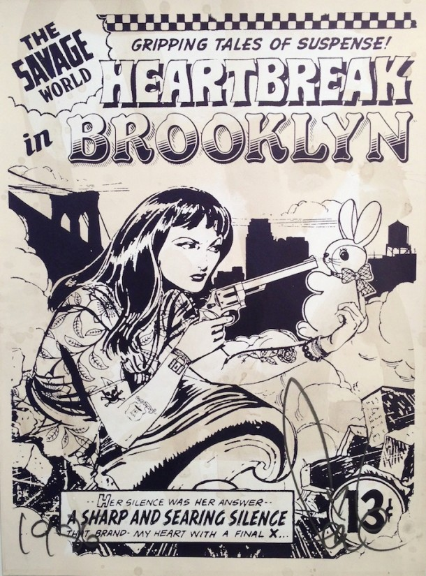 Street art FAILE Collectif d'artiste NY