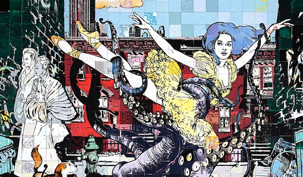 Street art FAILE Collectif d'artiste 19 Ballets de Faile