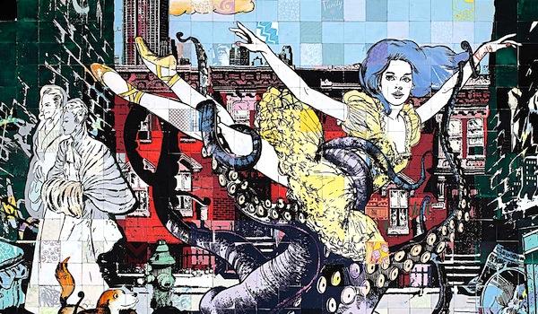 Street art FAILE Collectif d'artiste 19 Ballets de Faile