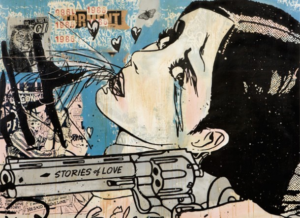 Street art FAILE Collectif d'artiste 06