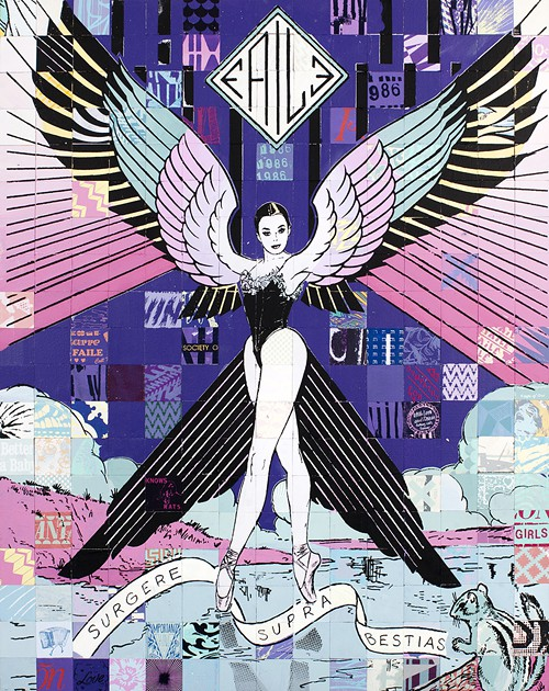 Street art FAILE Collectif d'artiste 21 Ballets de Faile The L mag