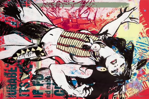 Street art FAILE Collectif d'artiste 01