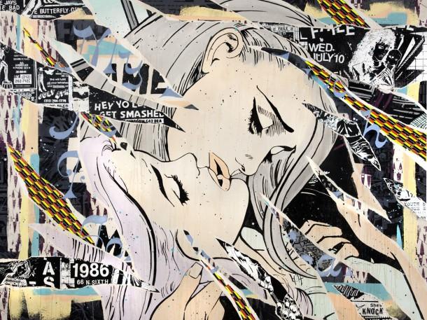 Street art FAILE Collectif d'artiste 12