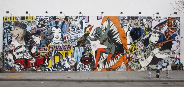 Street art FAILE Collectif d'artiste 02 Fresque