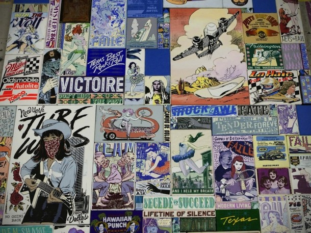 Street art FAILE Collectif d'artiste 23 Expo Dallas dec 2013