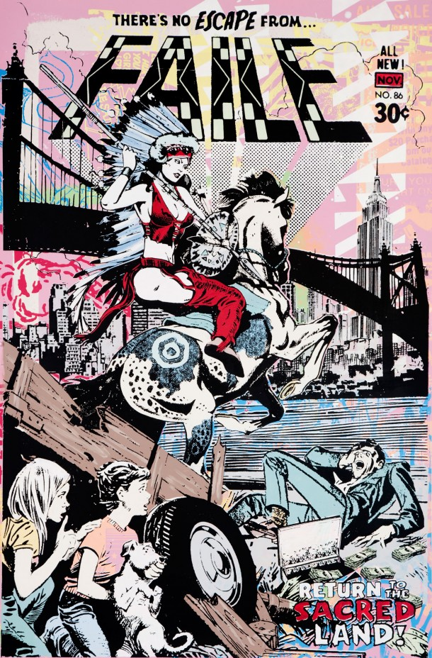 Street art FAILE Illustrations