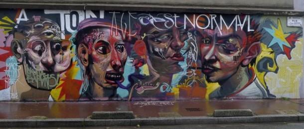 street art POPAY 11 Fresque