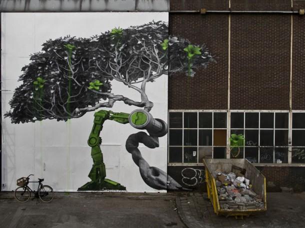 Street art ludo sur strip art le blog for Art et artiste