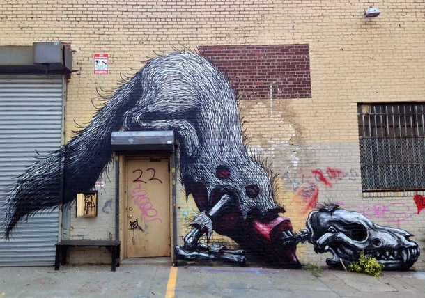 Street Art Roa 07