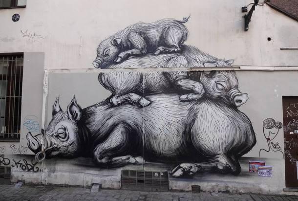 Street Art Roa 05