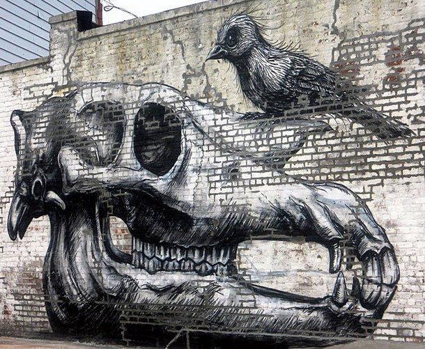 Street Art Roa 10