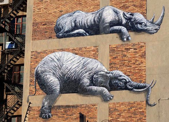 Street Art Roa 11