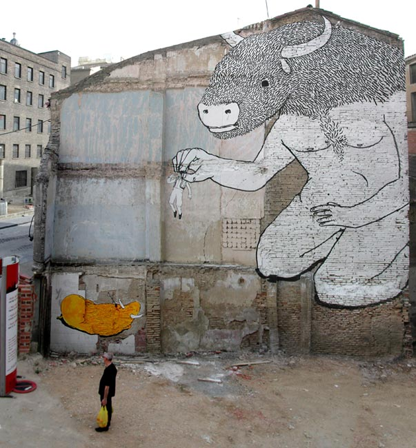 Street art BLU 03