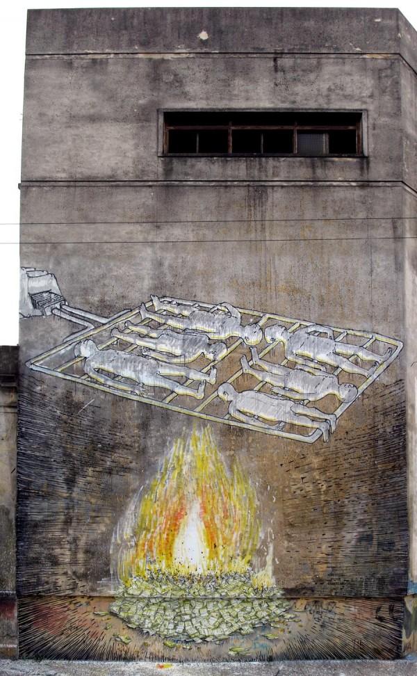 Street art BLU 02