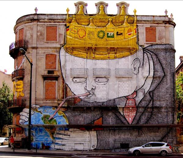 Street art BLU 01