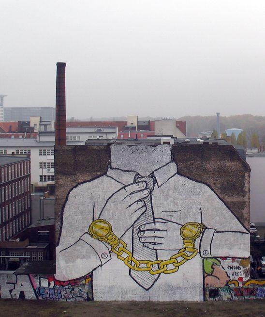 Street art BLU 17