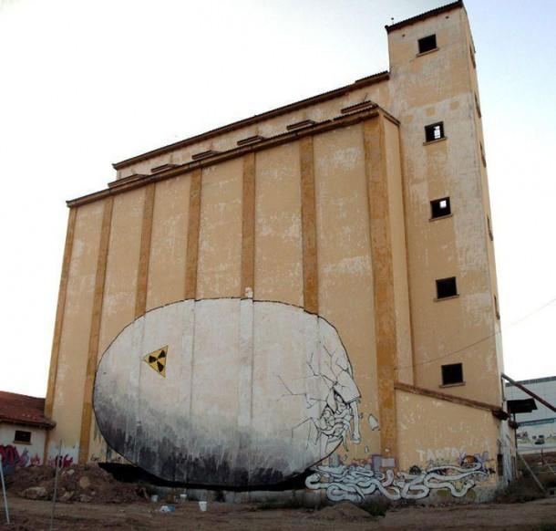 Street art BLU 10