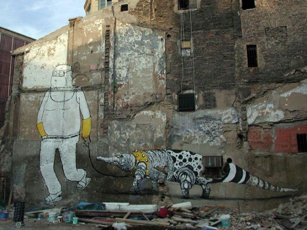 Street art BLU 05
