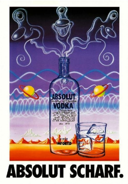 Kenny Scharf ABSOLUT VODKA