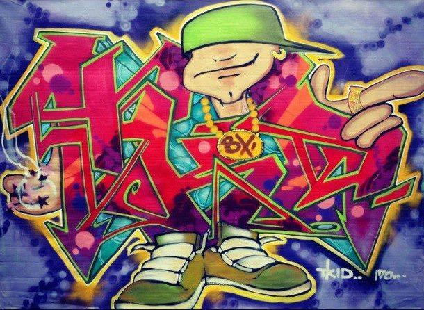 GraffitiT-kid 170 Toile 11