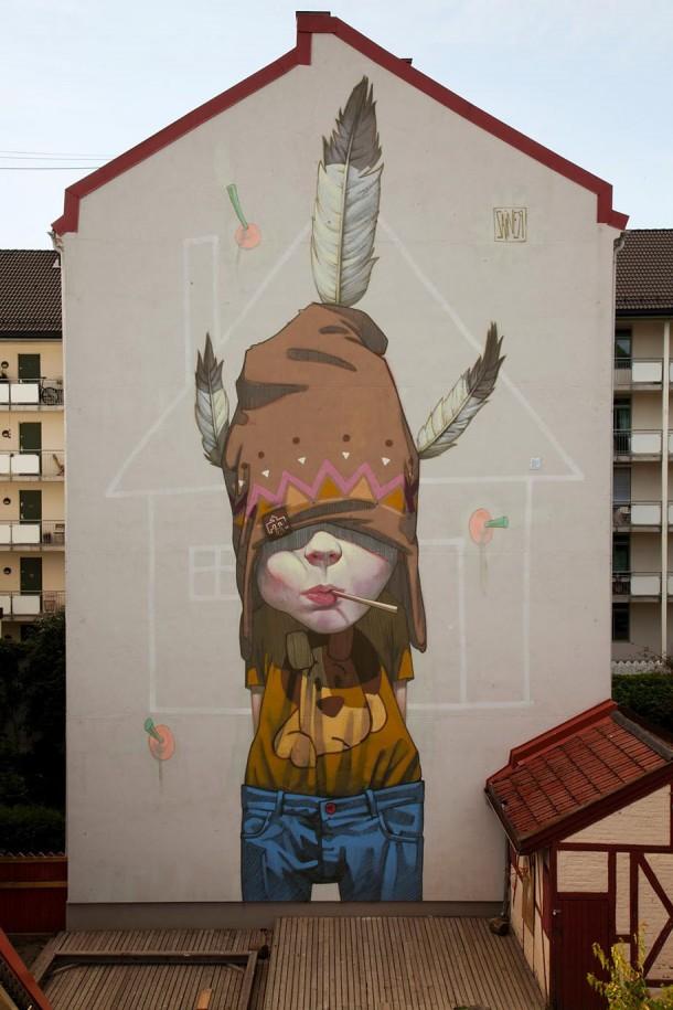 ETAM CREW  Street-art Fresque murale XXL