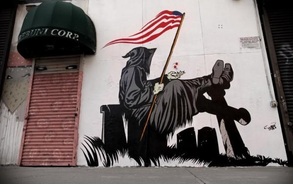 Street art D*Face 15