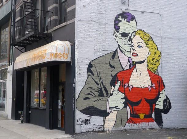 Street art D*Face 13