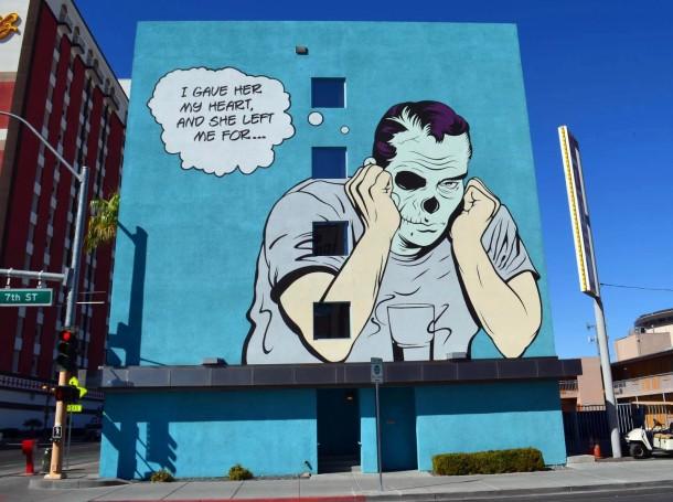 Street art D*Face 09