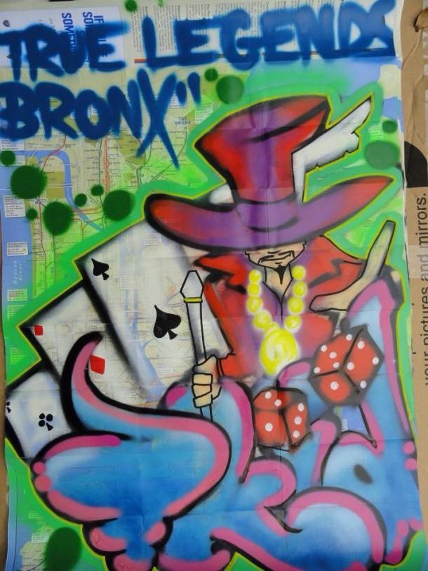 Graffiti Terrible T-kid 170 MAP