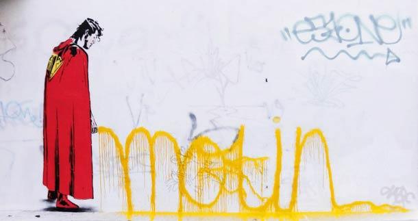 Street art D*Face 12