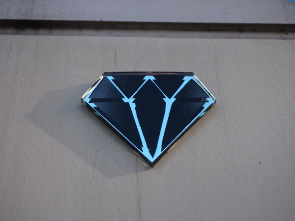 diamantaire street art