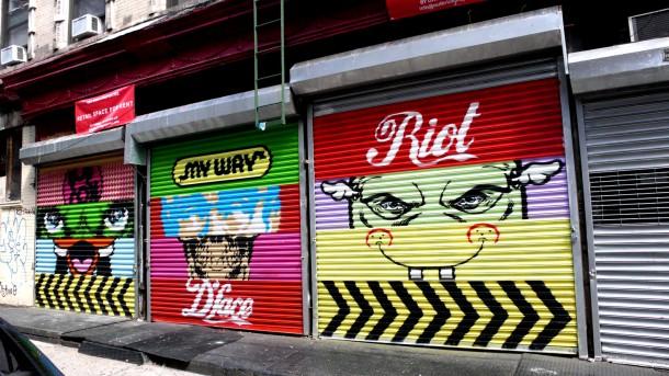 Street art D*Face 03