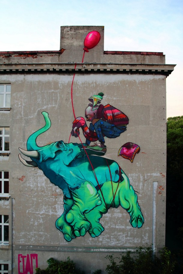 Street art ETAM Cru 01