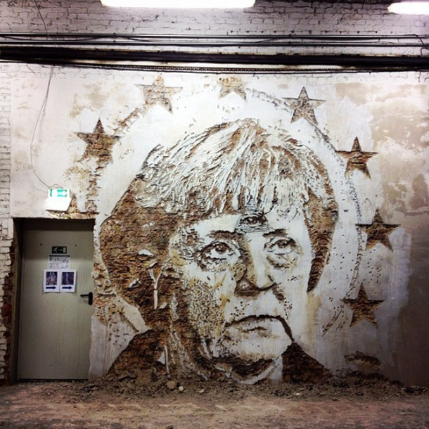 Vhils Street art Fresque murale 08